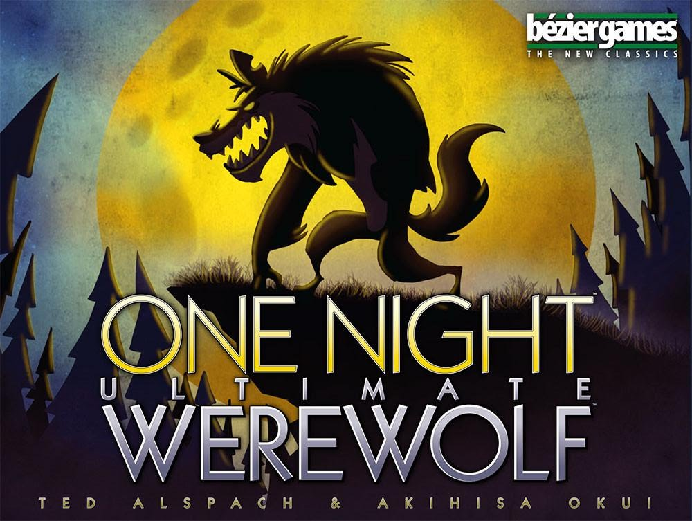 Box art for One Night Ultimate Werewolf ( source: Published by Bezier Games )
