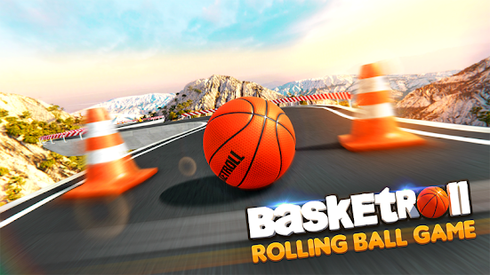 BasketRoll: Rolling Ball Game Screenshot