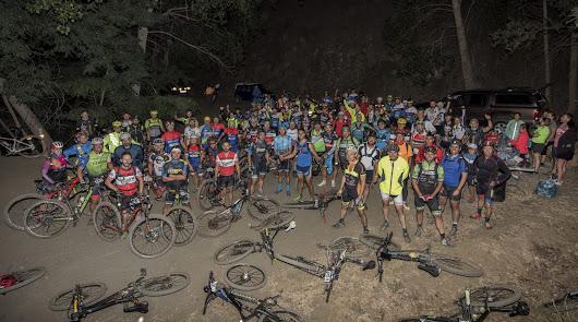 Más de un centenar de ciclistas en la cuarta edición de Luciernábula