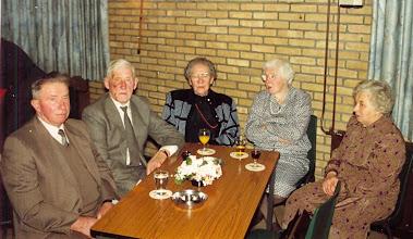Photo: B. Speulman, Jan Sloots, Riekie Oosting, Roelie Sloots en B. Speulman