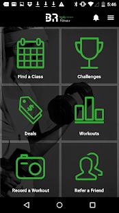 BR Fitness - náhled