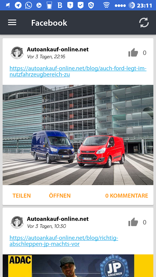 Autoankauf Online | Magazin- screenshot
