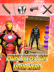 Create your Own Avenger Infinity Wars Hero APK screenshot thumbnail 3