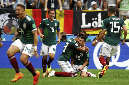 Spirited Mexico stun Germany in World Cup thriller b1c8ab619