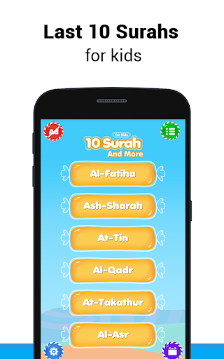 10 Surah for Kids Word By Word for PC