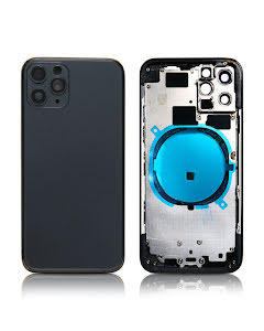 iPhone 11 Pro Back Housing without logo High Quality Space Gray