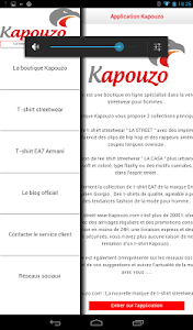 Kapouzo Officiel Streetwear screenshot 14