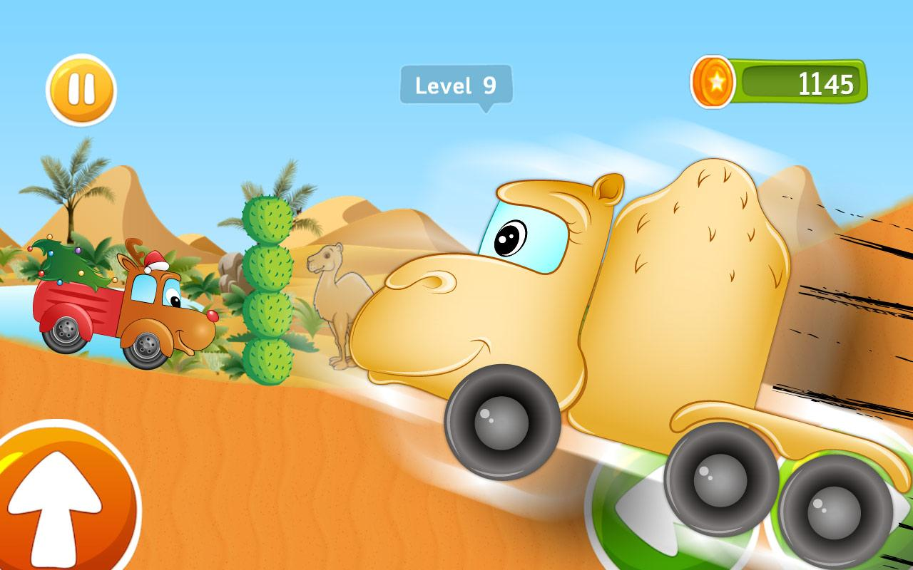 kids car racing game beepzz screenshot