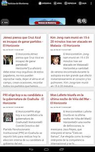 Noticias de Monterrey - náhled