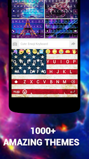 Emoji Keyboard Cute Emoticons- screenshot thumbnail