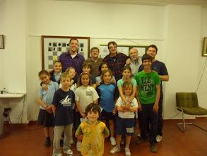 Photo: Visita de Paco Vallejo a la Escuela del Club Escacs Son Dameto 01
