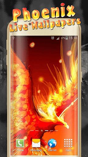 Phoenix Live Wallpaper  screenshots 2