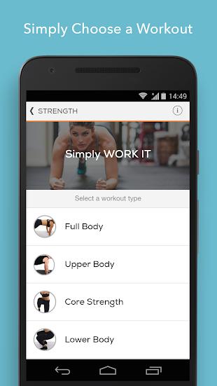 Sworkit Personalized Workouts- screenshot thumbnail