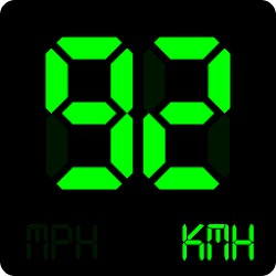 Digital Speedometer - GPS HUD- Simple offline