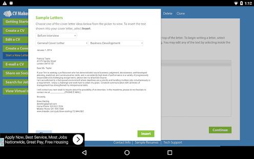 CV Maker FREE – Apps bei Google Play