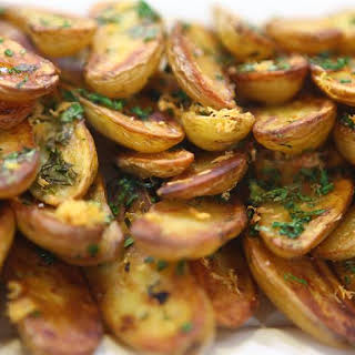 Roasted Fingerling Potatoes.