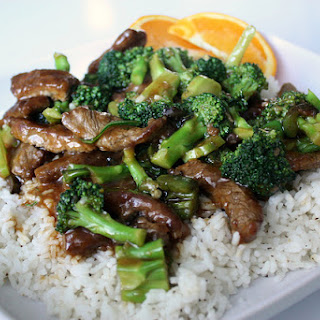 Easy Ginger Beef Broccoli