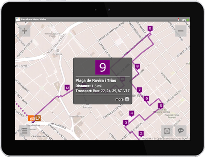 Barcelona Metro Walks - EN- screenshot thumbnail