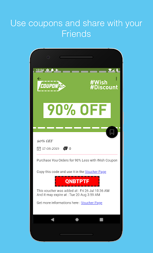 Download Coupons For Wish Discount Promo Codes By Couponat Free For Android Coupons For Wish Discount Promo Codes By Couponat Apk Download Steprimo Com
