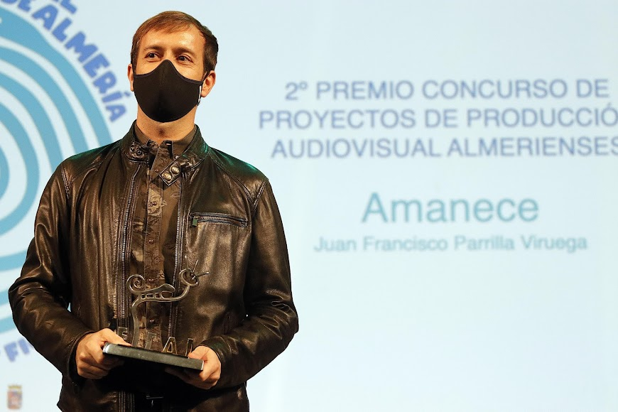 Gala del Audiovisual Almeriense 2020 en el Teatro Cervantes.