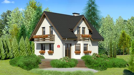 projekt Dom przy Kalinowej 2