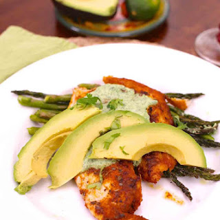 Blackened Tilapia With Cilantro Lime Sauce