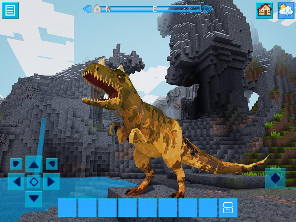survival craft free jurassiccraft free block build amp survival craft android 3039