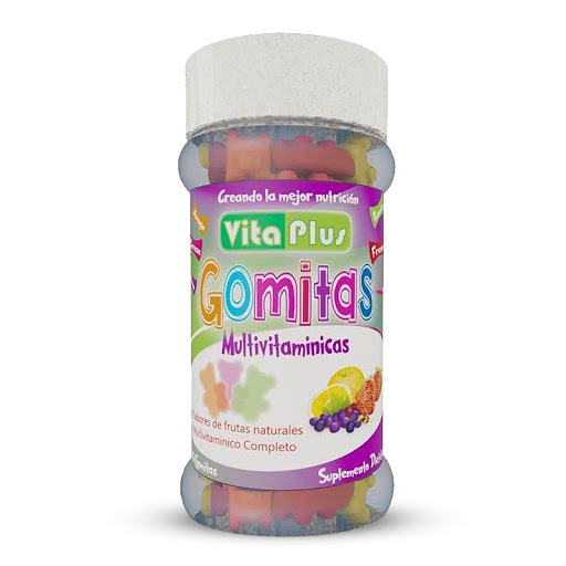 multivitaminico vita plus 80g gomitas vitaplus