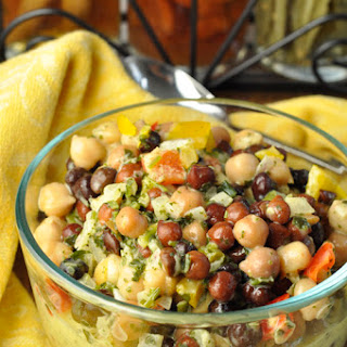Black Bean Chickpea Salad Recipes