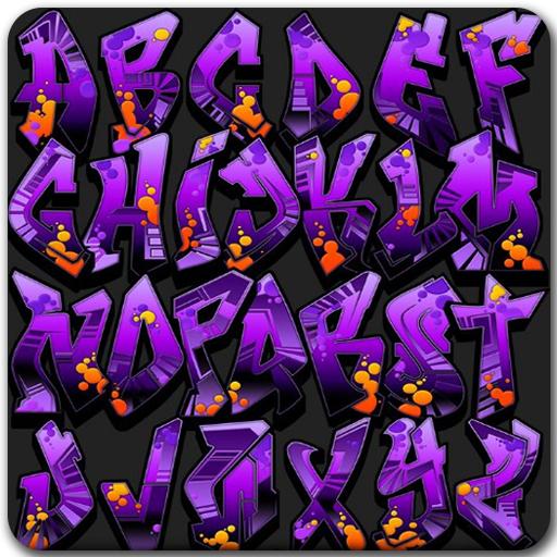 Drawing Graffiti Alphabet (app)