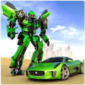 Bay xe Robot biến đổi xe cuộc chiến siêu anh hùng Mod