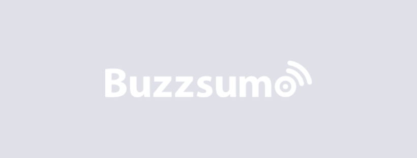 Buzzsumo - conversion rate optimization tools