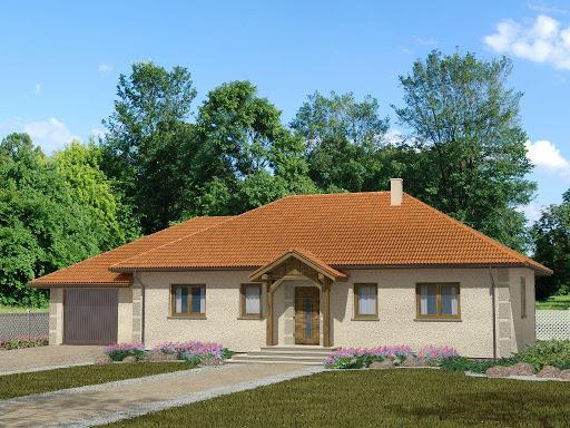 projekt Domek Piastowski 002 ET