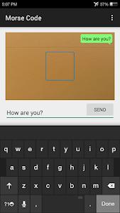 Morse Code Communicator screenshot 1