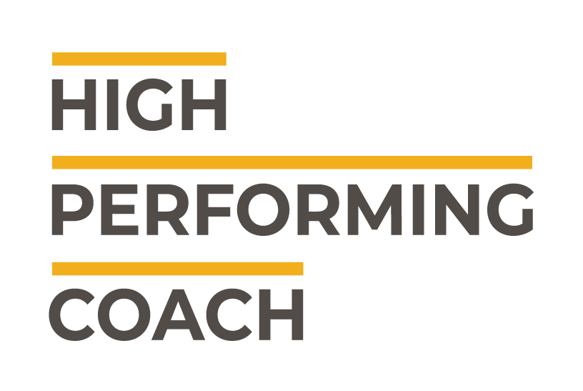 High-performing coach logo
