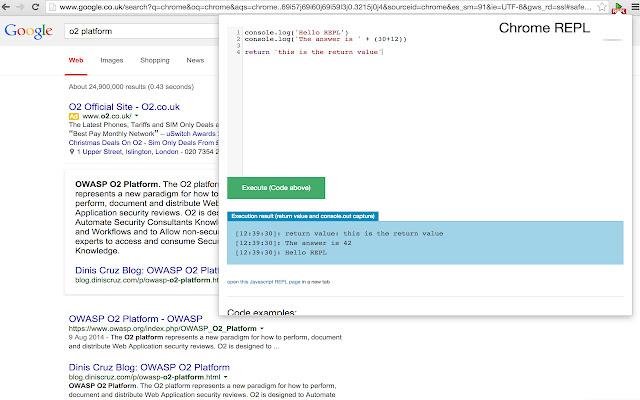 Chrome-REPL