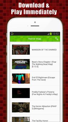 Horror Maps for Minecraft PE - screenshot