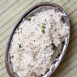 Curd Rice With Side Dish Recipes.