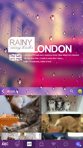 Rainy London Kika Keyboard|玩個人化App免費|玩APPs