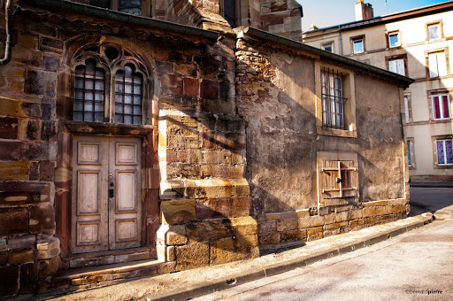 Arrière de l'église Sainte-Libaire