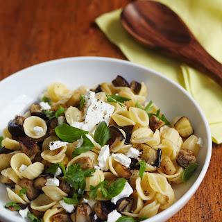 Feta & Eggplant Pasta Salad