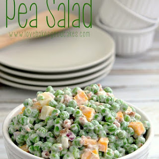 Creamy Pea Salad Recipe