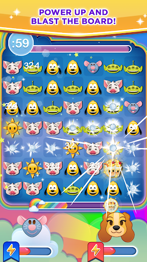 (APK) لوڈ، اتارنا Android/PC/Windows کے لئے مفت ڈاؤن لوڈ کھیل Disney Emoji Blitz: Inside Out screenshot