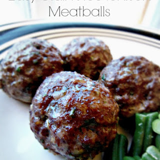 Easy Grain Free Venison Meatballs.