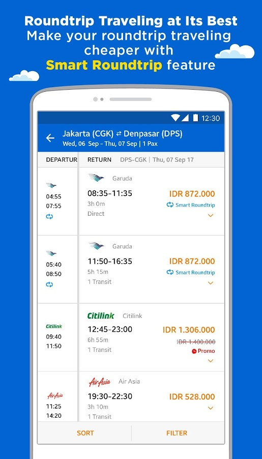 tiket.com – Flight, Train, and Hotel- screenshot