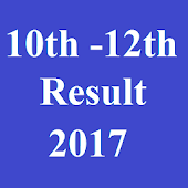 10th 12th Board Result 2017new