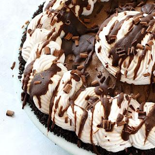 Mocha Almond Fudge Truffle Pie