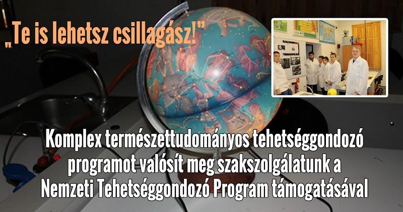 Te is lehetsz csillagász - természettudományos tehetséggondozó program