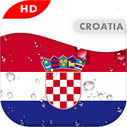 Croatia Flag 3D live wallpaper