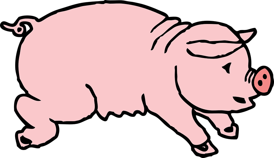 Free vector graphic: Pig, Hog, Animal, Mammal, Sow - Free Image on ...